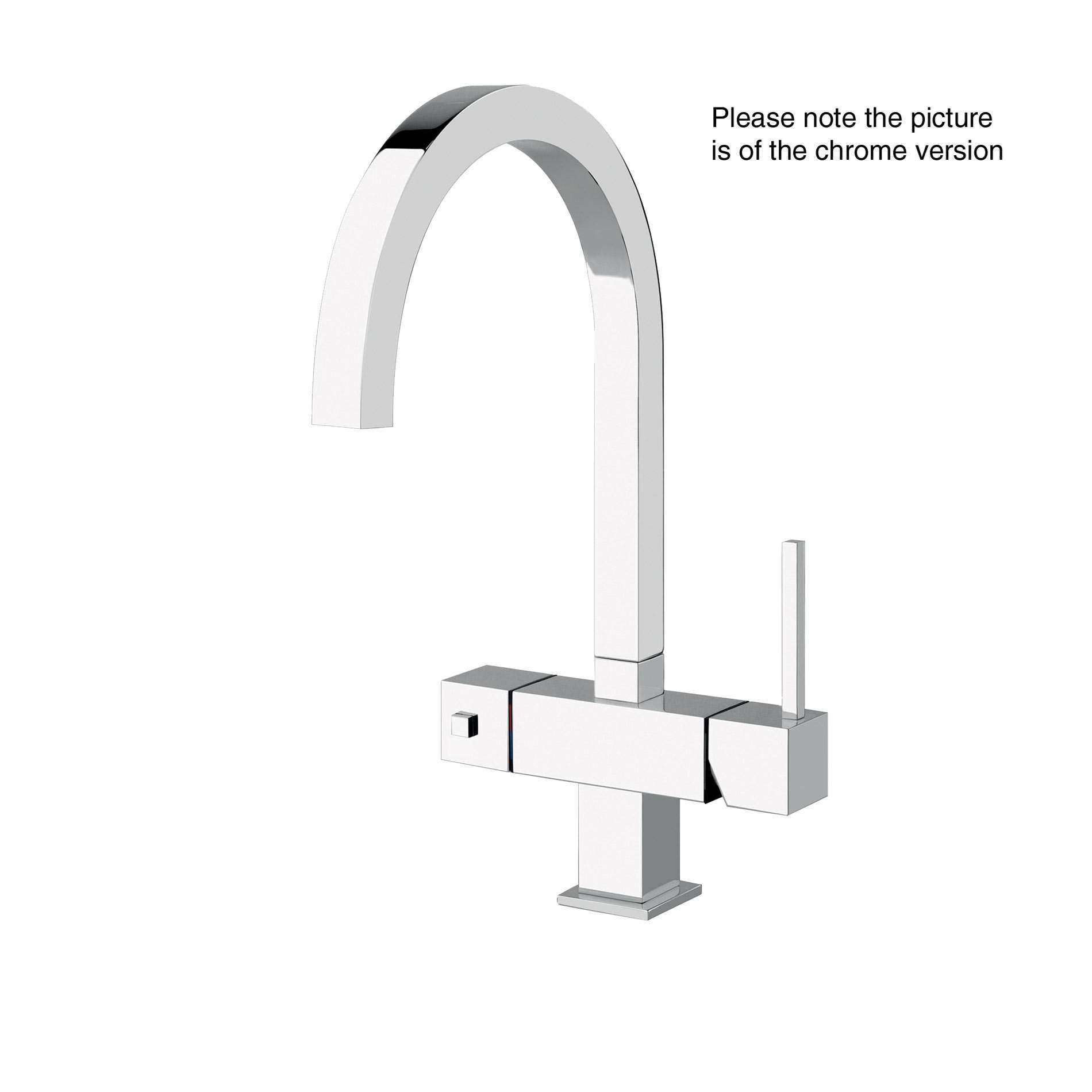 Picture of Quadro 98 Brushed Nickel Tap