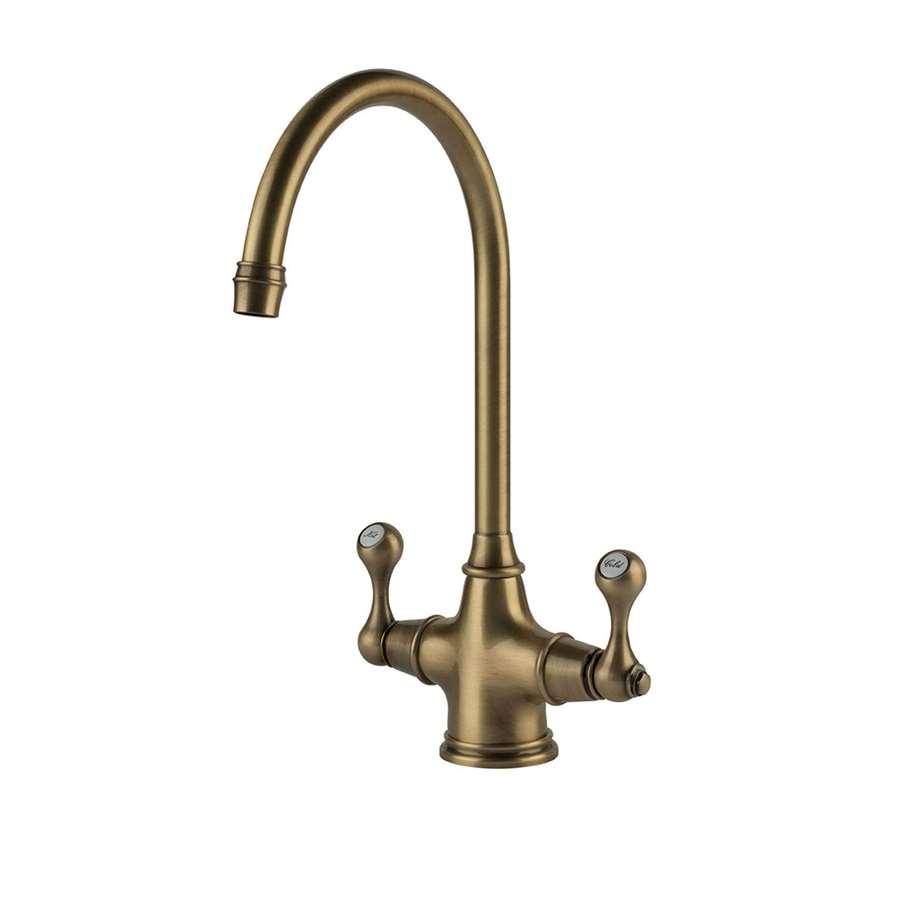 Clearwater Coriolis Brushed Bronze Tap Kitchen Sinks Amp Taps