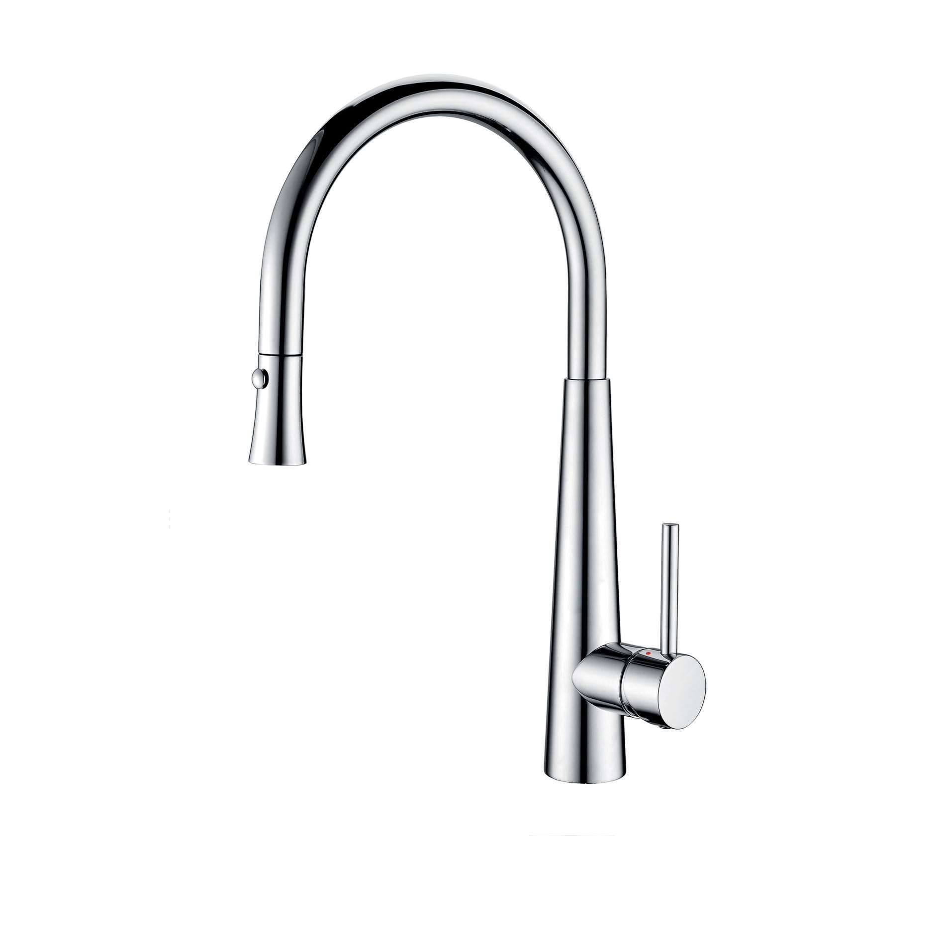 Picture of Porrima Pull Out Chrome Tap