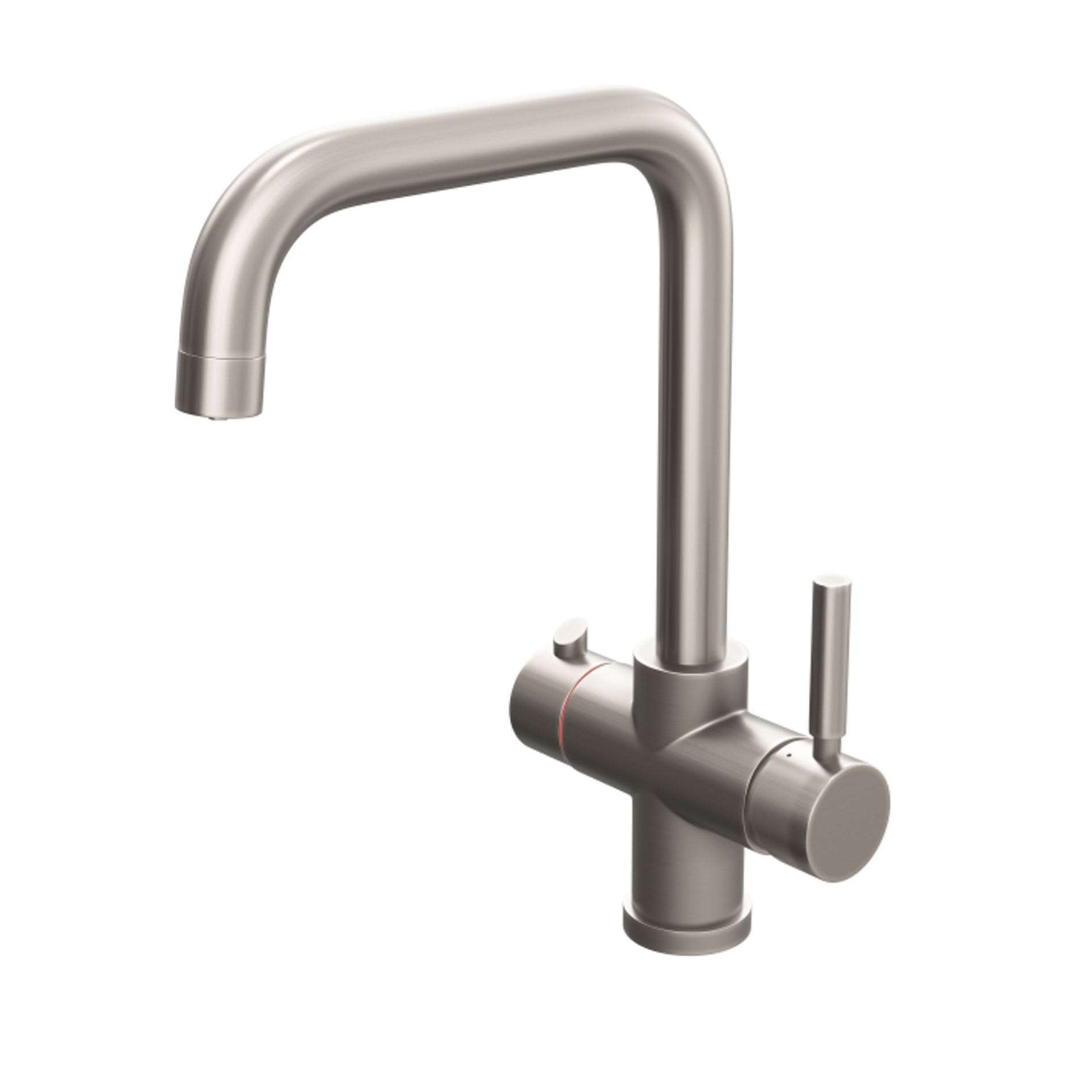 Picture of Amanzi Steaming 3 in 1 Brushed Nickel Hot Water Tap
