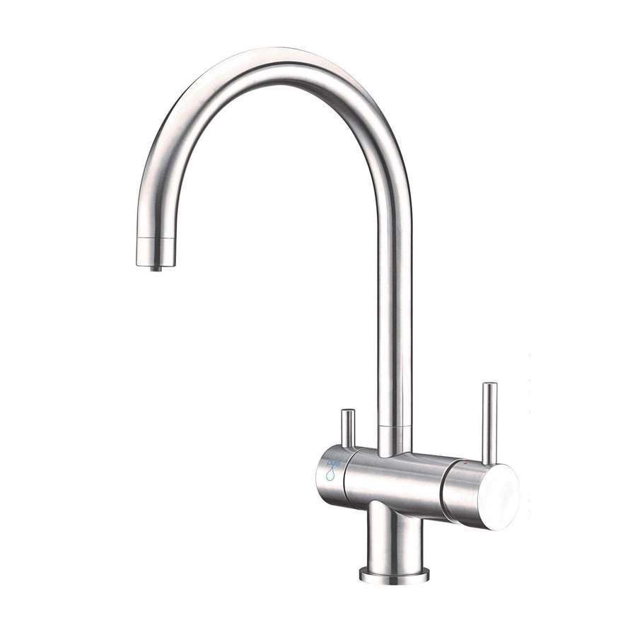 Stainless steel 3 way mixer tap landscape border fence