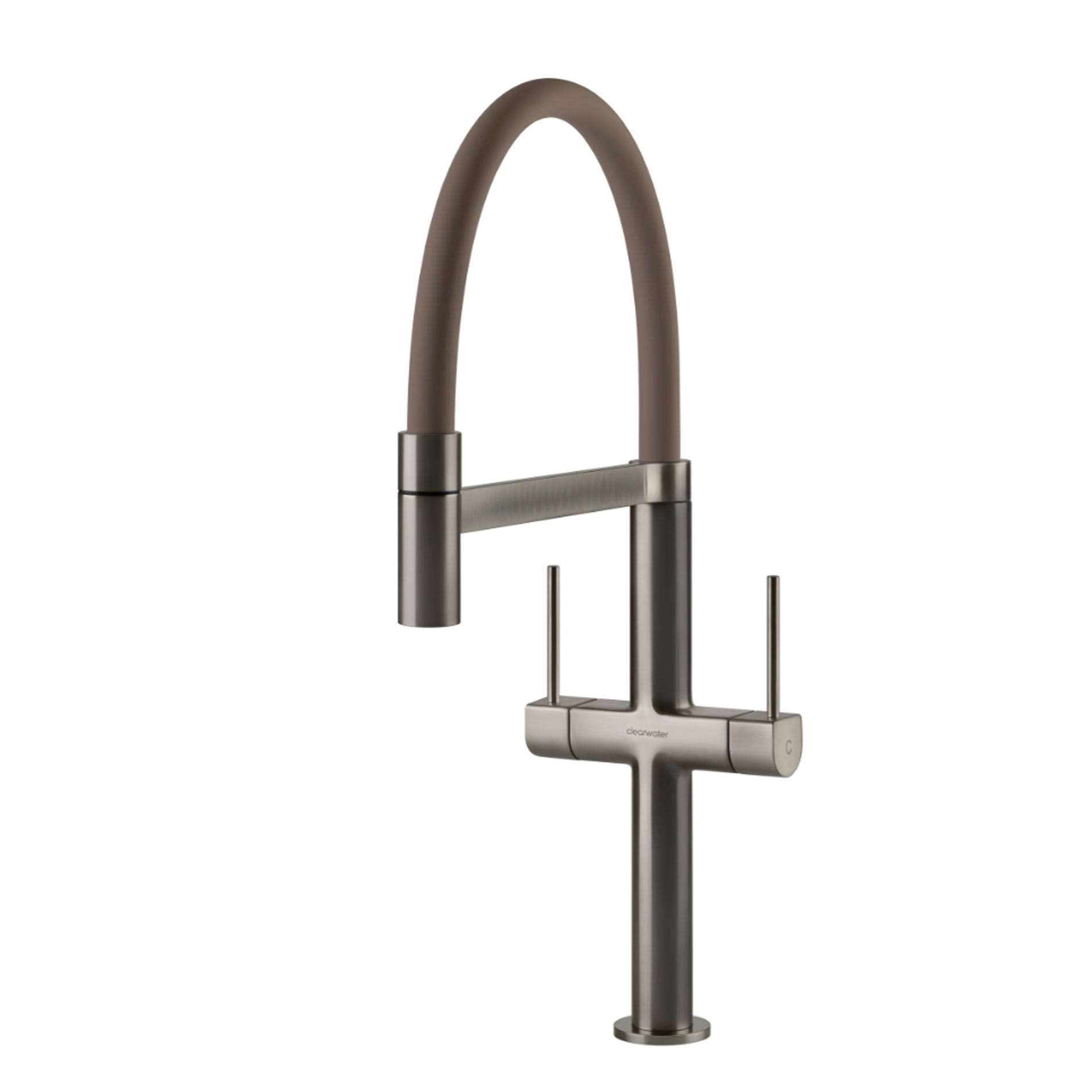 Picture of Dorado Brushed Nickel And Mink Tap