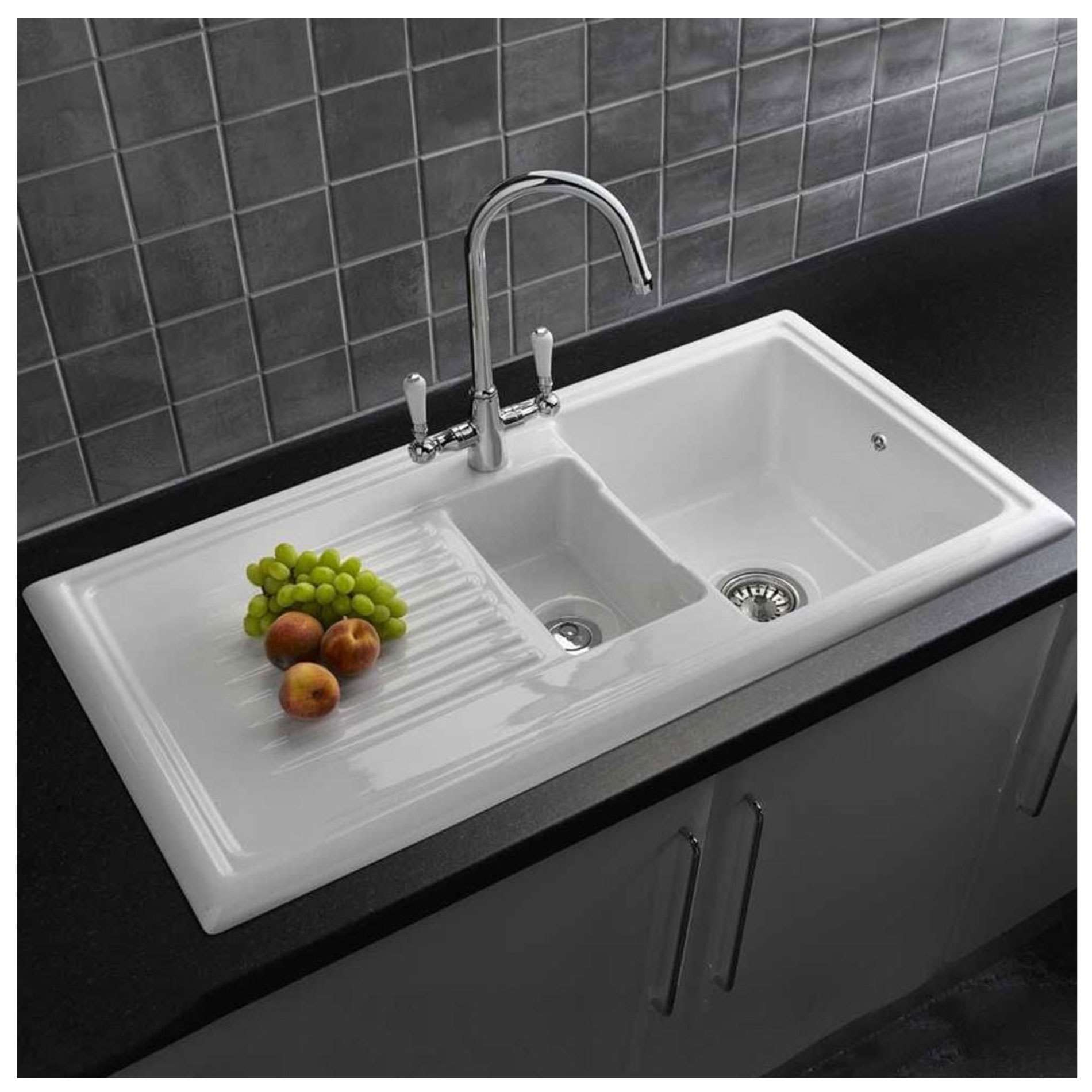 Picture of RL301CW Ceramic Sink & Elbe Tap Pack