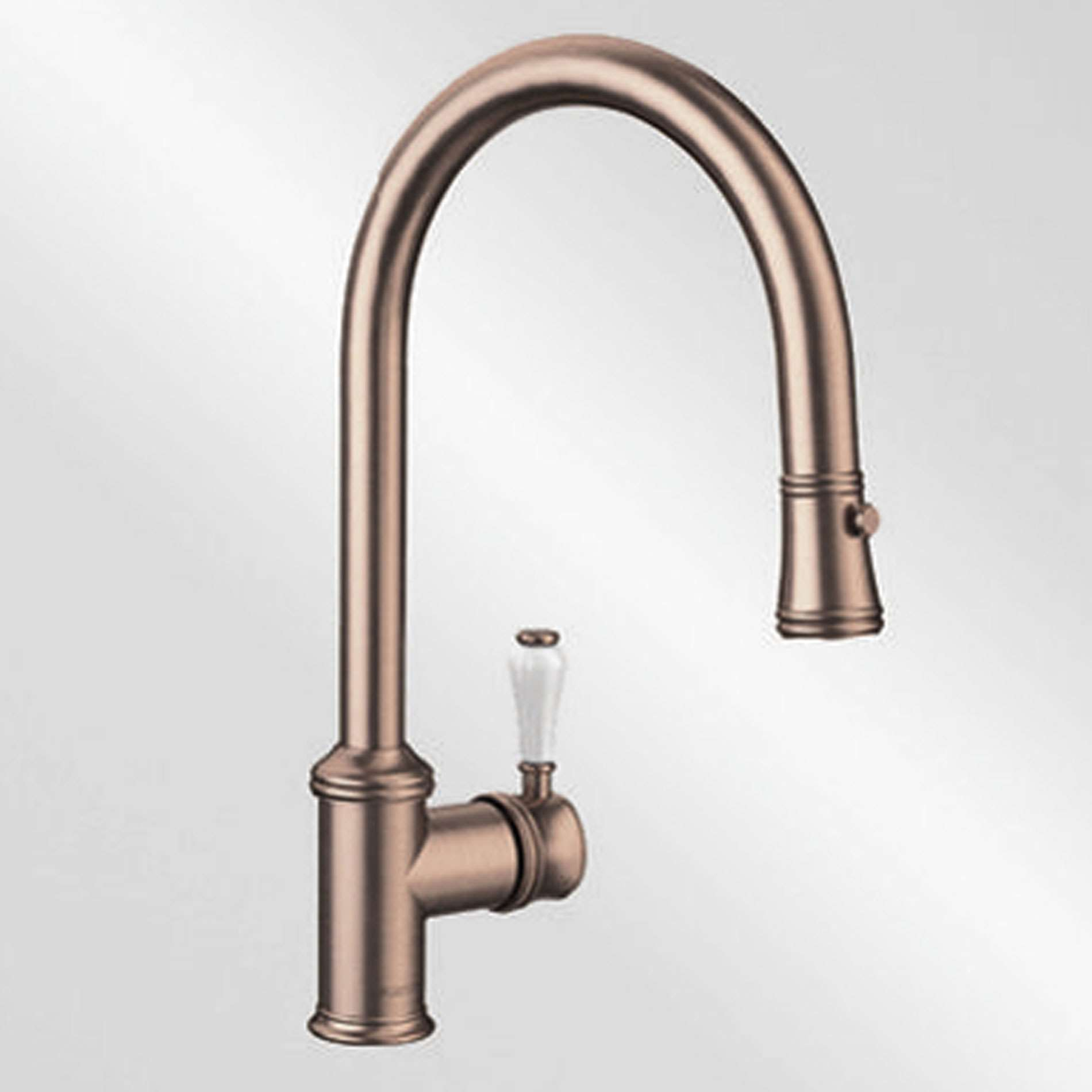 Blanco Vicus Single Lever Brushed Copper Tap Kitchen