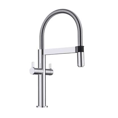 Picture of Blanco: Culina-S Mini Twin Lever Chrome Tap Upgrade