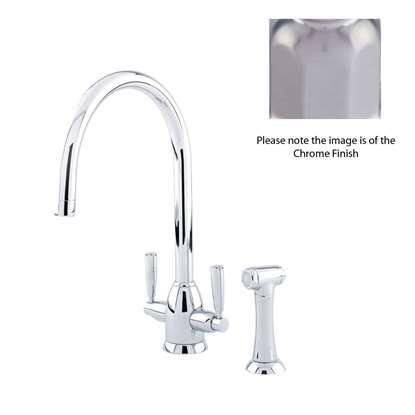 Picture of Perrin & Rowe: Oberon 4866 Pewter Tap