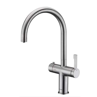 Picture of Clearwater: Magus 3 C Spout Brushed Nickel Tap