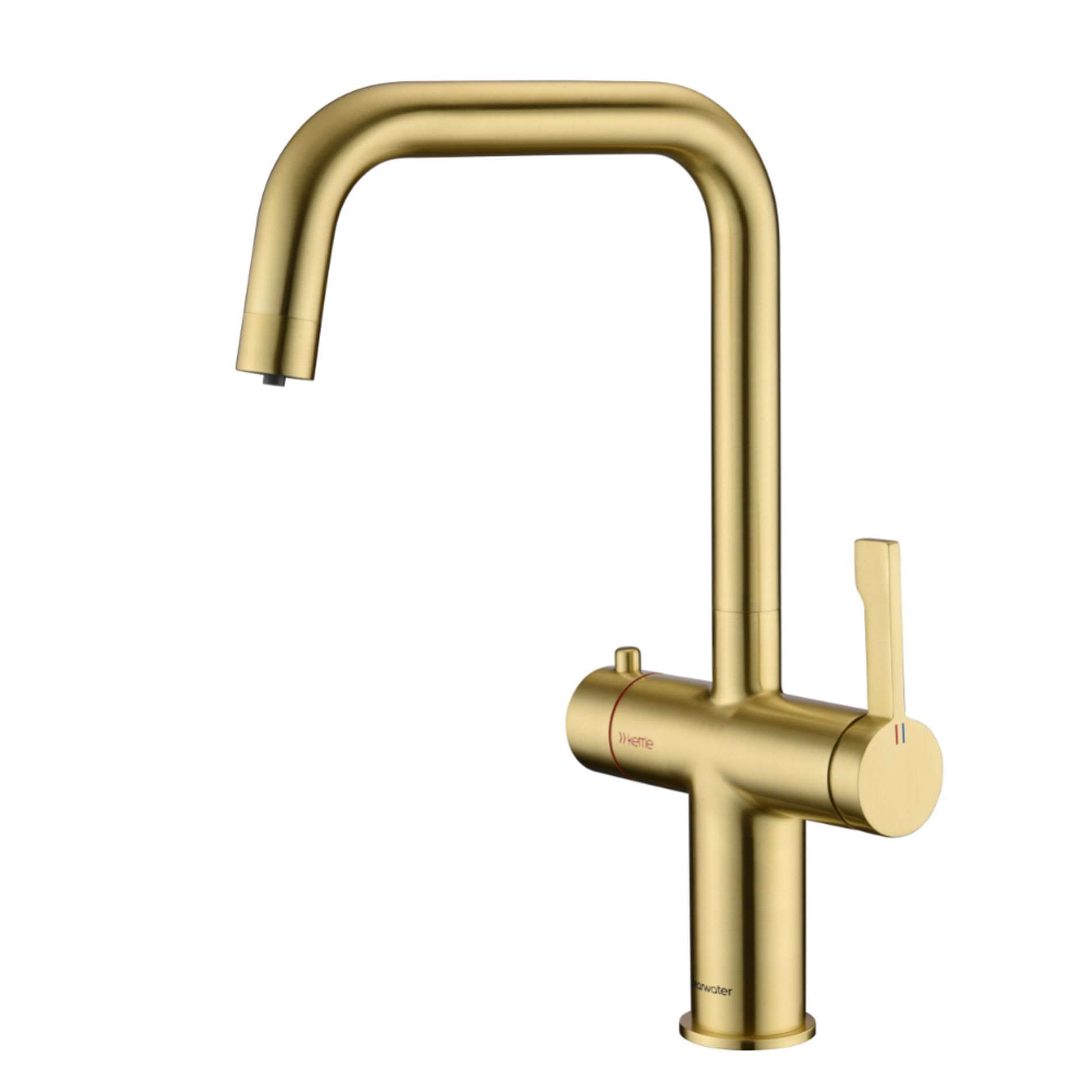 Picture of Magus 3 U Spout Brushed Brass Tap